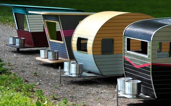4 modèles de caravanes pour chien