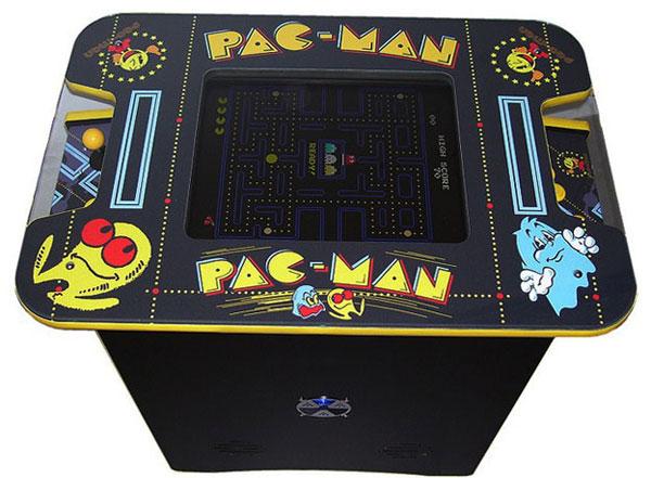 plateau de la tablea arcade Pac-man