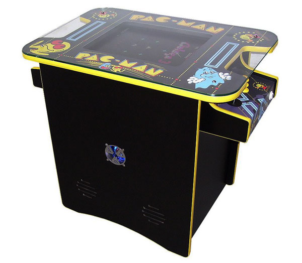 Table cocktail arcade Pac-man de 3 quarts