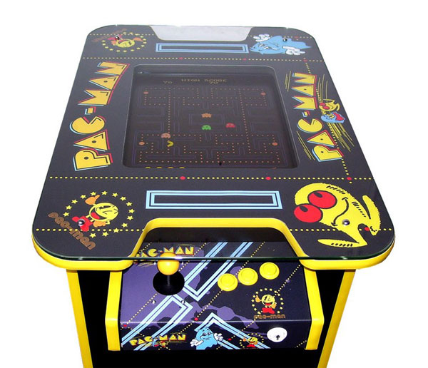Table arcade Pac-man pour cocktail