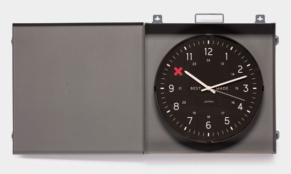 horloge dissimulable ouverte