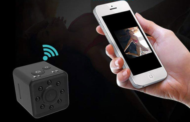 mini caméra HD wifi avec sapplication smartphone